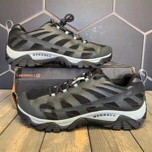 Merrell Moab Edge 2 Waterproof Boot Black Grey